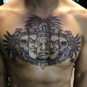 #tattoo #Black #blackworktattoo #blackwork #fineline #skull #prehispanictattoo #prehistoric #tattooartist #tattootodo #balmtattoo