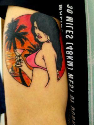 GTA Vice City In my mind, on my skin