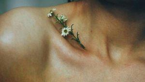 #flowertattoo #shouldertattoo