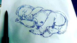 #skitze #Baby #familie #stencil #follow #followforfollower #blackandgrey #instatattoo #germantattooer #natur#spitze #germantattooer#natur #tattoodo #tattooapp #bookingnow #artist #follow #followforfollower# #Studio #mone1971#