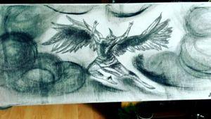 Ikarus f ly to the Sun #mythology #ikarus#tattoo #Bleistift #Leinwand #kohle #follow #followforfollower #blackandgrey #instatattoo #germantattooer #natur #spitze #spitzenschuh #kunst #zeichnen #artist #follow #followforfollower #blackandgrey #art #kunst e