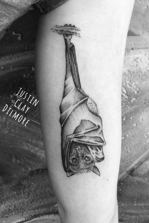 #justinclaydilmore #sandiego #sandiegotattooartist #bat #battattoo #animal #animaltattoo #nature #naturetattoo #dotwork #dotworktattoo #blackwork #blackworker #blackworkers #blackworktattoo #blackandgrey #blackandgreytattoo #tattooartist #tattooart #tattoooftheday #ink #inked