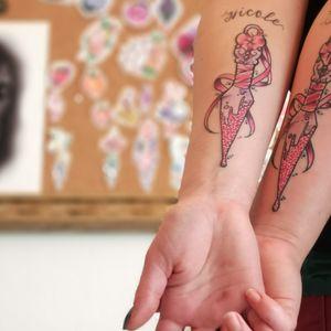 More kawaii tattoos please 🌸💗✨ . . #tattoo #kawaii #glitterynewschool