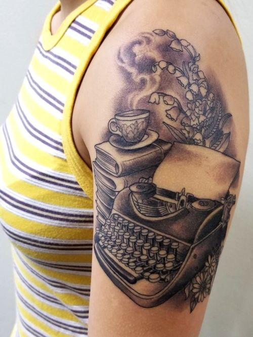 Writer inspired tattoo