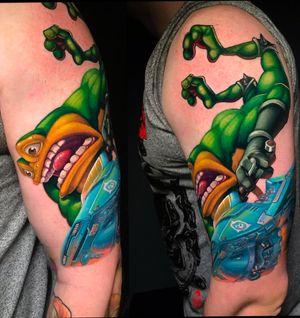 #battletoads #tattoogames #gamestattoo #Nes #8bit  #8bittattoo