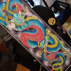 #dragon painting