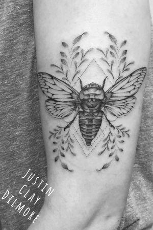 #justinclaydilmore #sandiego #sandiegotattooartist #beetle #beetletattoo #bug #insect #insecttattoo #dotwork #dotworktattoo #floral #floraltattoo #nature #naturetattoo #blackwork #blackworktattoo #blackandgrey #blackandgreytattoo #tattoo #tattooartist #tattooart #ink #inked