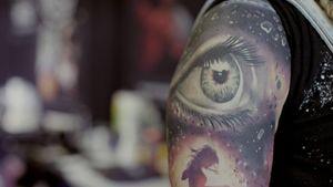 Healed Saga Anderson tattoo #SagaAnderson #MusinkFest #Musink #musicfestival #tattooconvention #TravisBarker