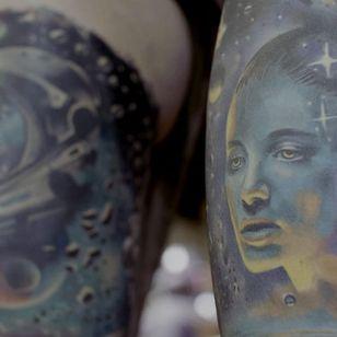 Tattoos by Saga Anderson #SagaAnderson #MusinkFest #Musink #musicfestival #tattooconvention #TravisBarker