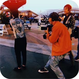 Joe and Rene doing Inkounters at Musink 2019 #MusinkFest #Musink #musicfestival #tattooconvention #TravisBarker