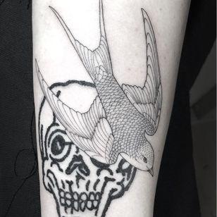 Tattoo by Scott Campbell #ScottCampbell #WholeGlory #MarcJacobs #NewYorkCity