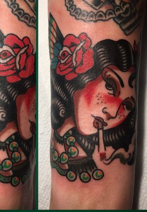 Filler baby! #tattooartist #color #filler