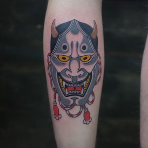 Tattoo by Andrei Vintikov #japanesetattoo #hannya #traditionaltattoo #andreivintikov #goodsign #tattoominsk #minsktattoo #minsk