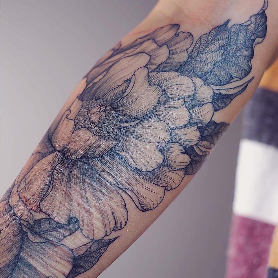 Over harm scars self tattoo Why I