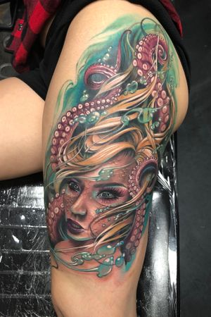 Mermaid leg piece.