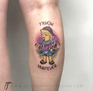 Lisa Simpson #thesimpsons #cartoontattoo #colourtattoo