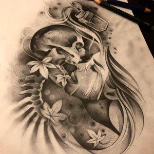 Romeo&Juliette . Personal interpretation. Up for grabs . #tattoos #tattoo #romantic #skull #romeoandjuliet #shakespeare #shakespearequotes #lovers #death #poem #italy #verona #blackandwhite #kiss #portrait #realism #graphite #photooftheday #instagood #instaart #art #artist #challenge #poison #poisoned #classical #londontattoo #london