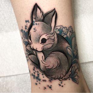 Cute sketchy bunny from my flash book #photography #tattoo #tattoos #tattooideas #tattoo2me #tattooist #portrait #portraittattoo #portraiture #painting #tatt #tattrx #inkedgirls #inked #ink #yayofamilia #tattoomodel #fish #sea #seatattoo #realism #surreal