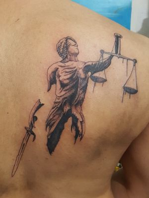 @ani.v.tattoo #daredevil #justice #tattooalbania #hometattoo_ani #god #honesty  #albania  #ani.v