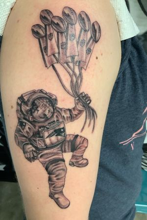 Tattoo from Shane Montie