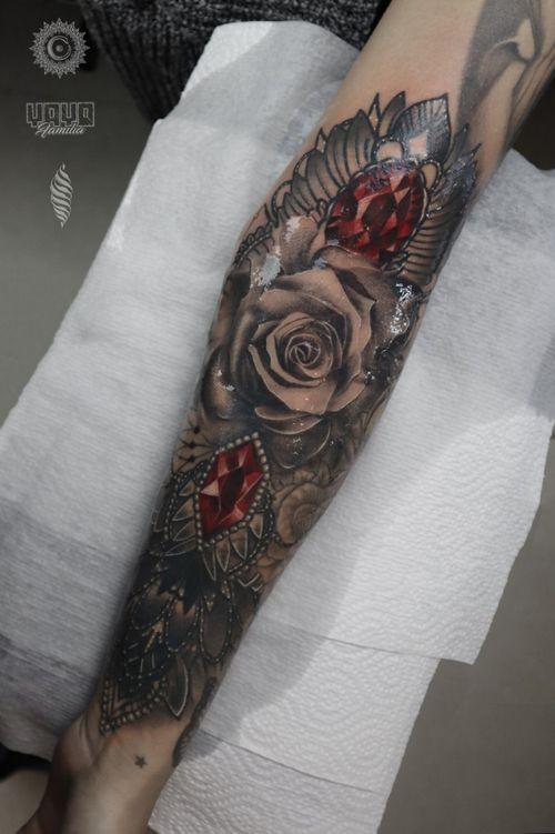 Thanks Mia, you sat like rock 🤘  For consultations and bookings DM or email: saint.wandal@gmail.com Sponsored by @yayofamilia Done using @fusion_ink , @fkirons , @cheyenne_tattooequipment , @piranhatattoosupplies , @barberdtssupplies & @killerinktattoo #radtattoos #killerink #superbtattoos #tattoorealistic #inkig #tattoosnob #tattooworld #wandaltattoo #tattooeurope #inkjunkeyz #rose #diamonds #roses #red #beautifultattoos #london #yayofamilia #tattoosforwomen #colorrealism #русскийлондон #uk #тату #лондон #роза  #tattooedwomen