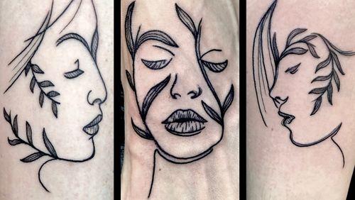 Friendship triptych 💖 #tattoo #tattoogirls #tatoo #tattoos #tatto #tattooist #tats #tattooed #tattooer #tattooing #tattooart #tattoolife #friendship #friendshiptattoo #black #blackwork #blackworktattoo #lineworktattoo #femaleartist #femaletattooartist #artist #ankiekuis #sweetarttattoo #waalwijk #tribaltrading #tilburg