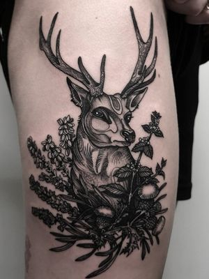 Instagram: @olga_tattoos E-mail: Olgamdtattoos@gmail.com #london#londontattoos#shoreditch#customdesign#customtattoos#bw#blackink#blscktattoos#tattoo#tattoos#tattooed#tattooers#blackwork#blackink#blackworkers#blackworkers_tattoo#ttt#tttism#ldnttt#london#ink#londontattoos#uktattooers#blacktattoos#blackandgrey#blackandgreytattoos#realistictattoo#art#blackandgreytattoos#deer#stag#wildflowers #naturetattoo #nature #forest