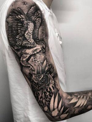 Instagram: @olga_tattoos E-mail: Olgamdtattoos@gmail.com  #london#londontattoos#shoreditch#customdesign#customtattoos#bw#blackink#blscktattoos#tattoo#tattoos#tattooed#tattooers#blackwork#blackink#blackworkers#blackworkers_tattoo#ttt#tttism#ldnttt#london#ink#londontattoos#uktattooers#blacktattoos#blackandgrey#blackandgreytattoos#realistictattoo#art#blackandgreytattoos#sleeve#birds#owl#owltattoo#eagle#eagletattoo