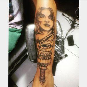 Tattoo Deusa nórdica