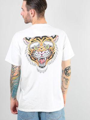 Tattoo t-shirt by Alice SB #AliceSb #RouteOne #SacrredForLife #merch #tshirt #color #traditional #newschool #neotraditional #mashup #bold #bright