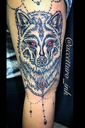 Wolf tat I did the other night. Dm me for appointments 🐺 #wolf #wolftattoo #neotraditionaltattoo #blackandgrey #color #colortattoo #popcolor #ornamentaltattoo #elaborate #beadwork #dotwork #lineworktattoo #follow #cutetattoo #cutetattooideas #tattooideas #customtattoo #fortlauderdale #fortlauderdaletattoos #soflo #sofloart #artofig #igtattoo #tatted #girlswithtattoos #tattooideas #eternalink #inked #ink #cheyennetattooequipment #illustrativetattoo #illustration #lonewolf #femaletattooartist