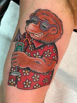 Tattoo by Josh Snyder #JoshSnyder #cartoontattoos #cartoon #90s #newschool #tvshow #Berenstainbears