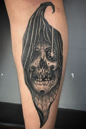 Healed grim reaper and spider