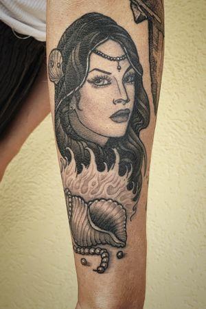 Healed mermaid for katie
