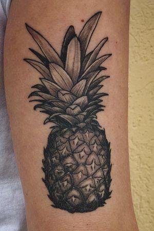 Healed pineapple