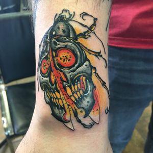 #skull #skulltattoo #beetle #skullbeetle