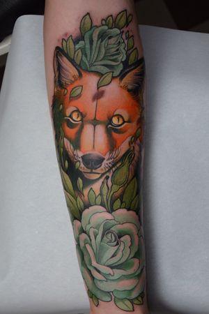 Weird orange wolf.