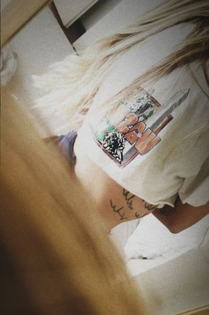 take a walk on the wild side  #lettering #phrase #lyricks #letteringtattoo #letteringtattoos #sunskin #sunskintattoomachines #tattooed #tattooart #tattooedgirl #girlwithtattoo #minimal #minimalistic #minimaltattoo