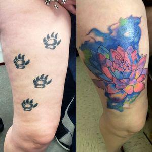 #inklife #tattoo #tattoos #tattooideas #gamerink #tattoosofinstagram #photooftheday #potd #tattooideas #tattoolifestyle #tattoosleeveideas #sleeve #tattoosleeve #tattoodo #tattoosofig #tattoooftheday #totd #tattoodesign #tattoomodel #tattooed #tattooart #tattoomagazine #tattoosociety #tattoostudio #tattoosnob #tattoostyle #inked #lotus #watercolortattoos #coveruptattoo