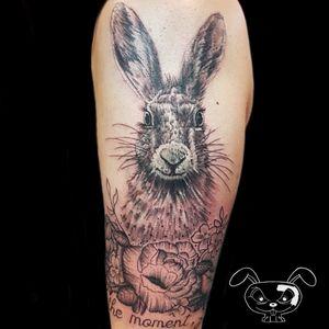 Dotwork hare