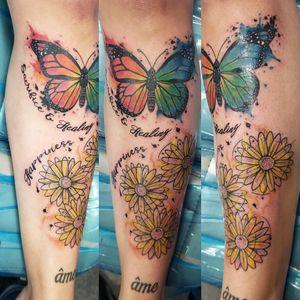 #inklife #tattoo #tattoos #tattooideas #gamerink #tattoosofinstagram #photooftheday #potd #tattooideas #tattoolifestyle #tattoosleeveideas #sleeve #tattoosleeve #tattoodo #tattoosofig #tattoooftheday #totd #tattoodesign #tattoomodel #tattooed #tattooart #tattoomagazine #tattoosociety #tattoostudio #tattoosnob #tattoostyle #inked #watercolortattoos #butterflytattoo #daisies