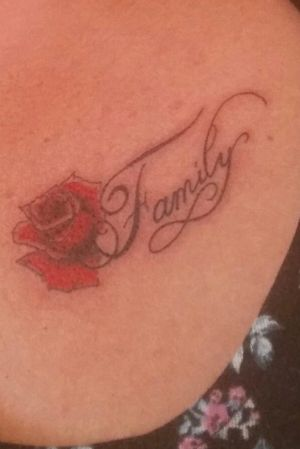 #rose #inked #family #love