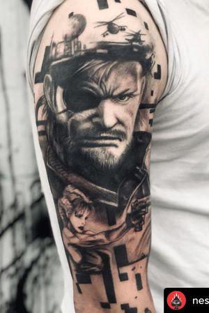 • @nestor_ace @metal.gear.solid @intenzetattooink @cheyenne_tattooequipment #blackandwhite #realismtattoo #tattoo#tattoos #tattooideas #westcoast #vancity #bogota #inked #ink #besttattooers #besttattoos #portait #vancouvertattooartist #vancouvertattoo #tatuaje #vancity #westcoast #ink #inked #realismtattoo #realism #burnabybc #langleybc #coquitlambc
