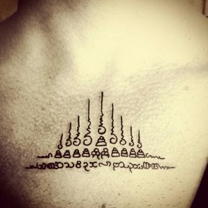 #sakyant #oriental #ornamental #religious #tattooart #thailandtattoo #thailand