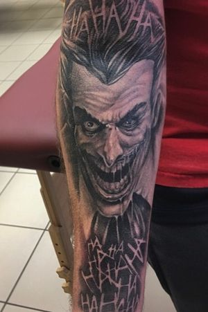 """The joker"" by Jake Macqueen @jakemacqueen"