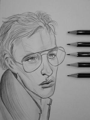 #drawing #man #pencil #pencildrawing