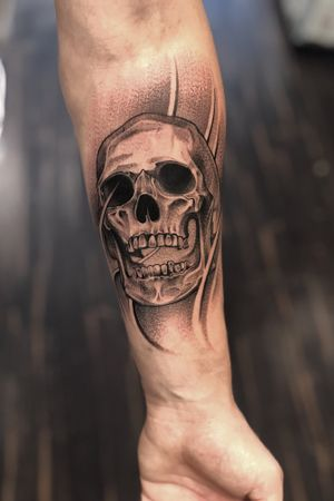 Skull done with #3rl only #skull #3rlonly