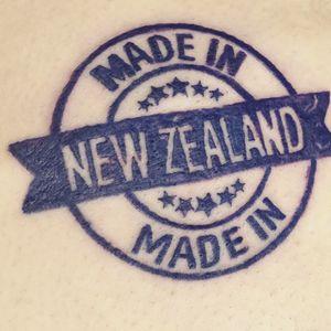 #stamp #madeinnewzealand #proudkiwi #newzealand