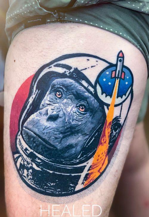 Healed ! @tattoodo Ambassador #tattoodo Tattooed using #worldfamousink @worldfamousink @_numb_skulled #_numb_skulled @fkirons Xion #fkirons #fkironsxion @bloodlinesinknorthperth #bloodlinesinknorthperth  #dermalizeproofficial #stencilanchored #sabertattooequipment #chrisrigonitattooer #chrisrigoni #tattoo