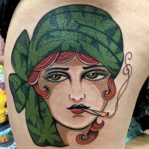 #traditional #girlhead #maryjane #420 #houston